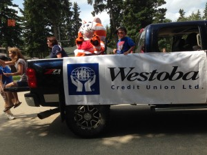 Chamber Days Parade - August 9, 2014 WESTOBA CREDIT UNION