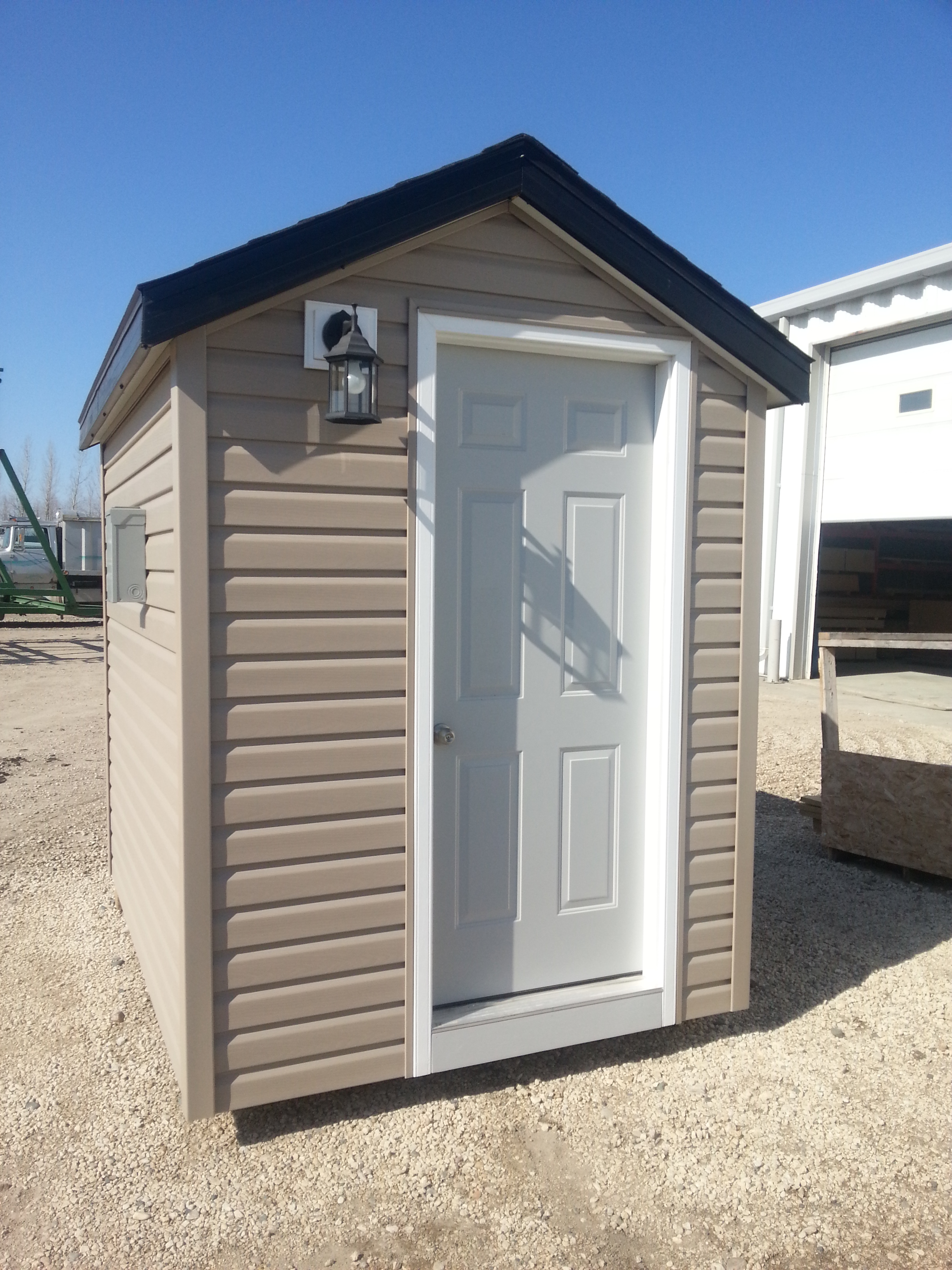 shed with bathroom
